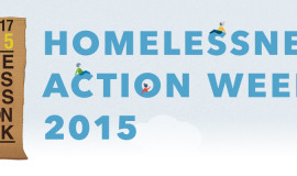 Homelessness Action Week 2015: The Drive Is On !