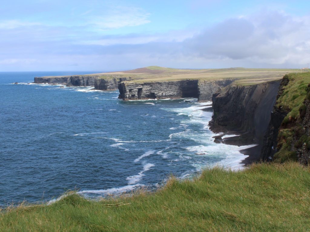 "Hiking the along the famous ""Wild Atlantic Way"" trails to find breathtaking views"