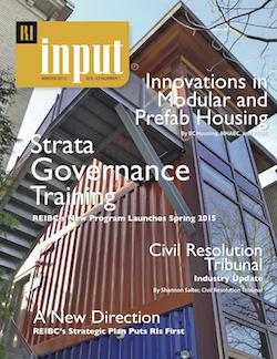 REIBC Input Magazine Winter