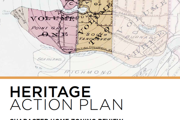 City of Vancouver Heritage Action Plan and Character Review
