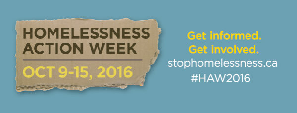 Homelessness Action Week 2016!