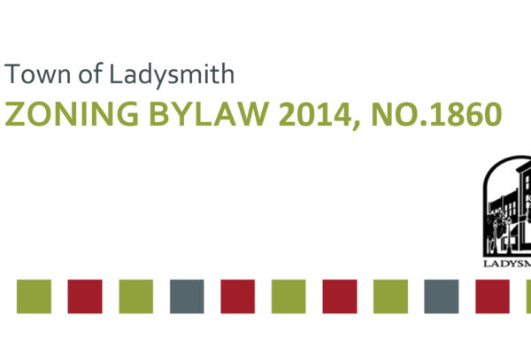 Town of Ladysmith Zoning Bylaw