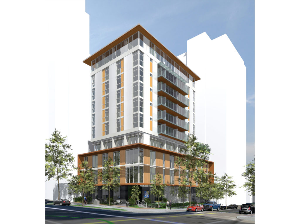 Image credit NDSA Architects - Rendering of 575 Drake Street building