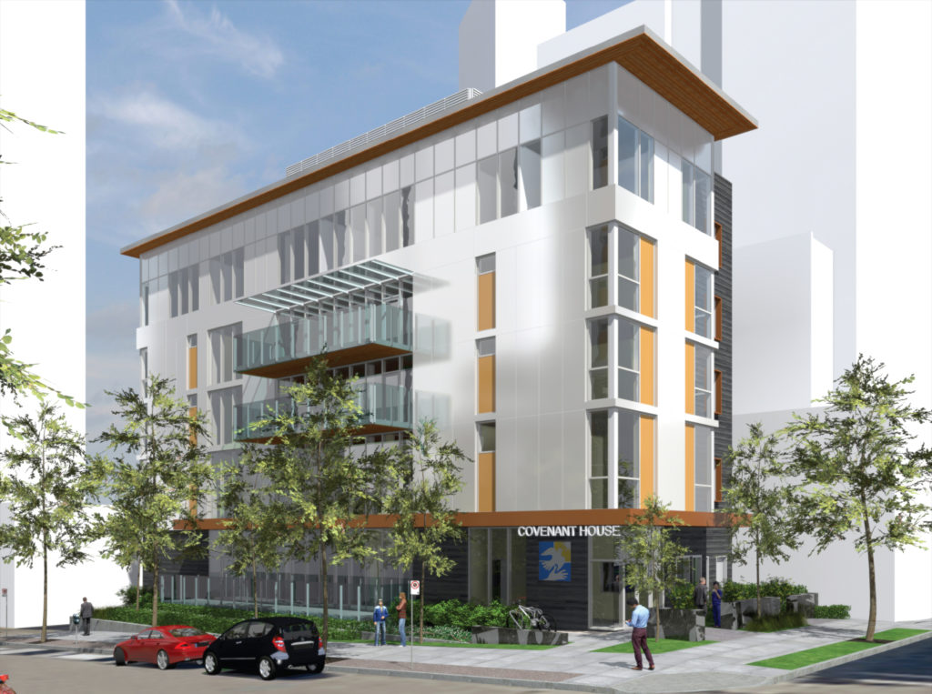 Image credit NDSA Architects - Rendering of Phase 1 530 Drake Street