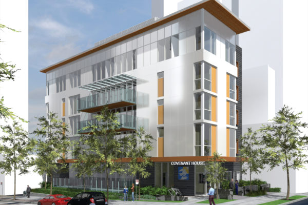Image credit NDSA Architects - Rendering of 530 Drake Street Entry