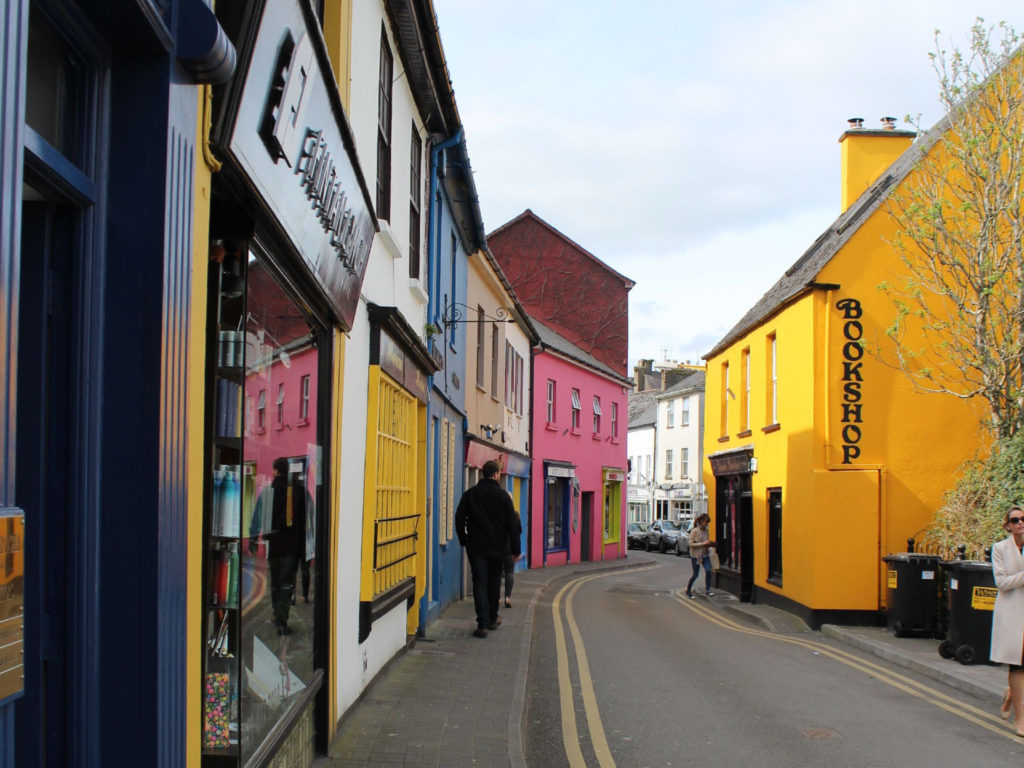 Exploring the colourful and narrow streets of Kinsale
