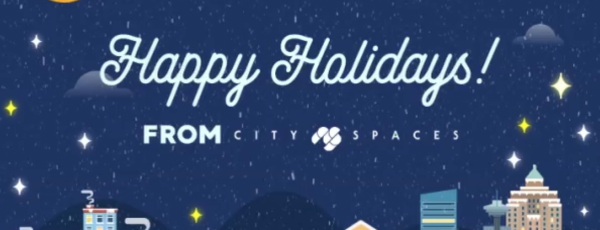 Happy Holidays from CitySpaces Consulting